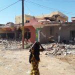 Sélibaby :   cavalcade de bulldozers  dans la ville !